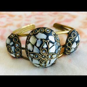 Jewelry - Blue Mosaic Cuff